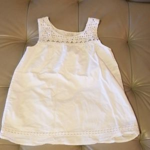 The Children's Place white shirt. Sz  (7/8)
